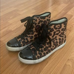 Forever 21 Leopard Print Sneakers